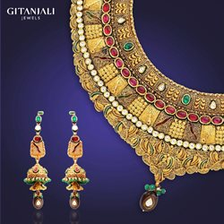 Offers from Gitanjali Jewels in the Agra leaflet