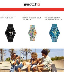 Swatch offers in the Swatch catalogue ( More than a month)