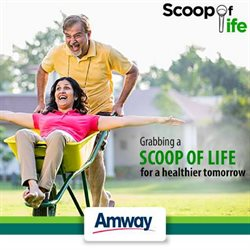 Offers from Amway in the Jamshedpur leaflet
