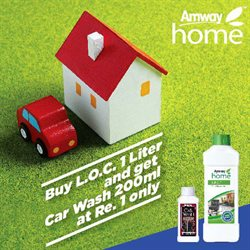 Offers from Amway in the Hyderabad leaflet