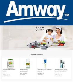 Offers from Amway in the Ludhiana leaflet
