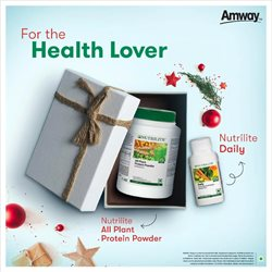 Amway catalogue ( More than a month )
