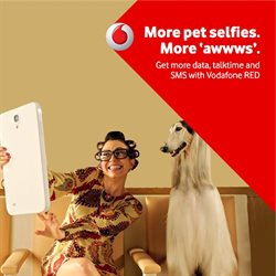 Offers from Vodafone in the Ahmedabad leaflet