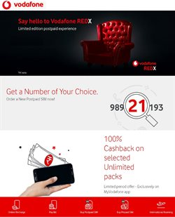 Offers from Vodafone in the Mumbai leaflet