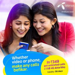 Offers from Telenor in the Ahmedabad leaflet