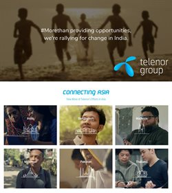 Telenor catalogue in Hyderabad ( More than a month )