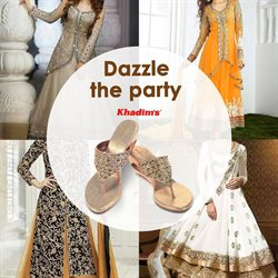 Clothes, shoes & accessories offers in the Khadims catalogue in Bokaro Steel City