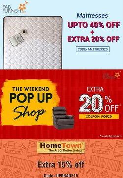 Home & Kitchen offers in the Fabfurnish catalogue ( 2 days left)
