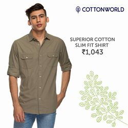 Offers from Cottonworld in the Mumbai leaflet