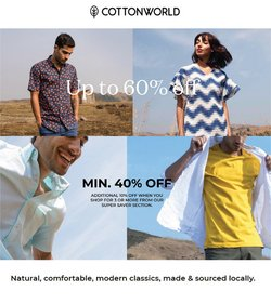 Cottonworld offers in the Cottonworld catalogue ( 8 days left)