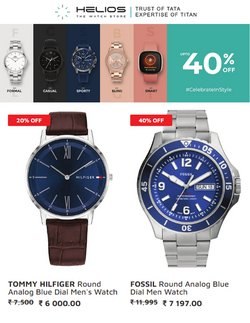 Fossil offers in the Helios catalogue ( 9 days left)