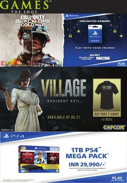 Mobiles & Electronics offers in the Games The Shop catalogue ( Expires today)