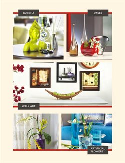 Decoration offers in the @home catalogue in Delhi
