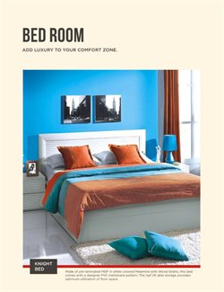 Bed offers in the @home catalogue in Delhi
