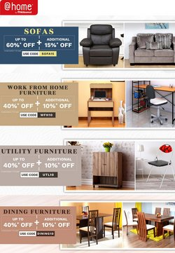 Home & Kitchen offers in the @home catalogue ( Expires tomorrow)