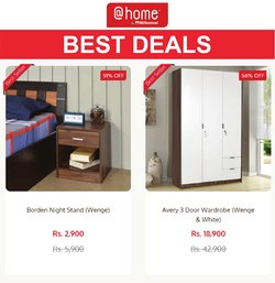 Home & Kitchen offers in the @home catalogue ( 1 day ago)