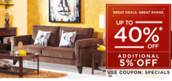 Offers from @home in the Bangalore leaflet