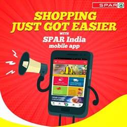 Offers from Spar Hypermarket in the Cochin leaflet