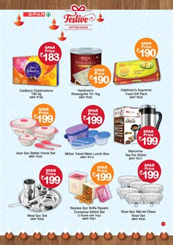 Container offers in the Spar Hypermarket catalogue in Delhi