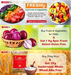 Food offers in the Spar Hypermarket catalogue in Delhi