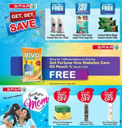Offers from Spar Hypermarket in the Chennai leaflet