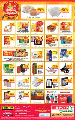 Offers from Spar Hypermarket in the Mumbai leaflet