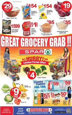 Spar Hypermarket catalogue in Chennai ( Expired )