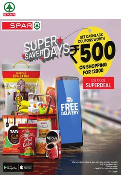 Spar Hypermarket catalogue in Chennai ( 8 days left )