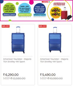 American Tourister offers in the Spar Hypermarket catalogue ( 7 days left)