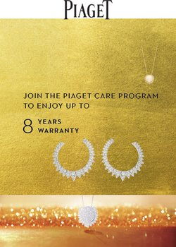 Piaget offers in the Piaget catalogue ( 2 days left)