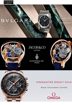 Jewellery offers in the Johnson Watch catalogue ( 7 days left)