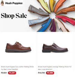 Hush Puppies offers in the Hush Puppies catalogue ( 2 days left)