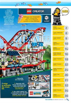 Offers from LEGO in the Mumbai leaflet