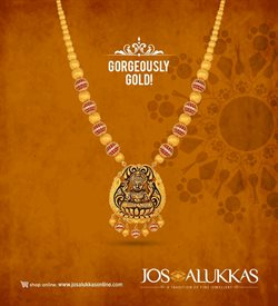 Offers from Jos Alukkas in the Bangalore leaflet