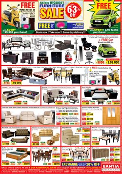 Chairs offers in the Bantia Furnitures catalogue in Delhi