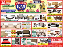 Sofa offers in the Bantia Furnitures catalogue in Delhi