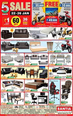 Home & Kitchen offers in the Bantia Furnitures catalogue in Delhi ( 3 days left )