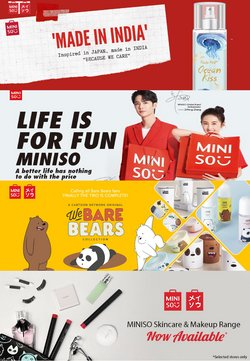 Perfume & Beauty offers in the Miniso catalogue ( 10 days left)