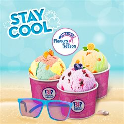 Restaurants offers in the Baskin Robbins catalogue in Nashik