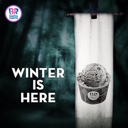 Offers from Baskin Robbins in the Mumbai leaflet