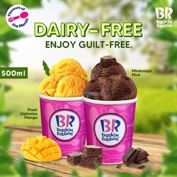 Restaurants offers in the Baskin Robbins catalogue in Hyderabad ( 2 days ago )