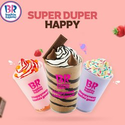 Restaurants offers in the Baskin Robbins catalogue ( More than a month)