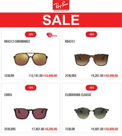 Perfume & Beauty offers in the Ray Ban catalogue ( 8 days left)