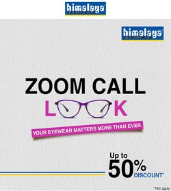 Himalaya Opticals offers in the Himalaya Opticals catalogue ( More than a month)
