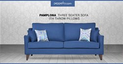 Sofa offers in the Pepperfry catalogue in Delhi