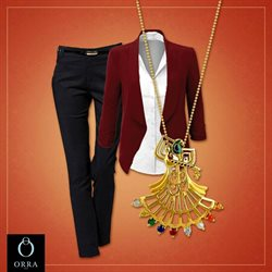 Necklace offers in the Orra catalogue in Delhi