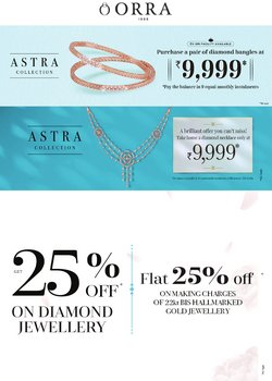 Jewellery offers in the Orra catalogue ( 2 days left)