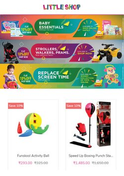 Toys & babies offers in the Little Shop catalogue ( 2 days left)