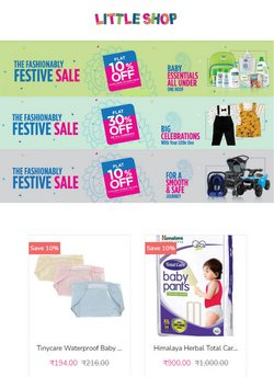 Toys & babies offers in the Little Shop catalogue ( Expires today)