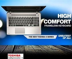 Offers from Toshiba in the Ahmedabad leaflet